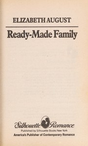Cover of: Ready Made Family | Elizabeth August