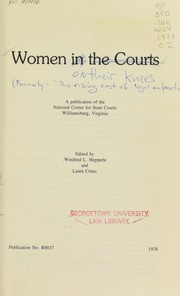 Women in the courts by