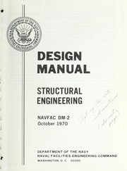 Design manual by United States. Naval Facilities Engineering Command