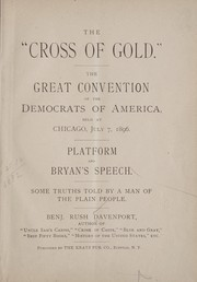 "Cover of: The ""cross of gold."""