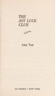 Cover of: Joy Luck Club-O.M
