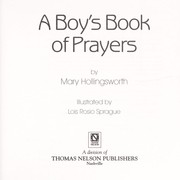 Cover of: A boy's book of prayers