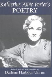Cover of: Katherine Anne Porter's poetry
