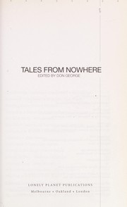 Cover of: Tales from nowhere |
