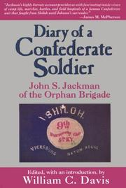 Cover of: Diary of a Confederate Soldier | John S. Jackman