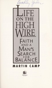 Cover of: Life on the high wire
