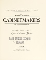 Cover of: Cabinet Makers