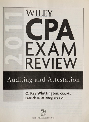 Wiley CPA exam review 2011 by Ray Whittington