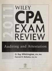 Cover of: Wiley CPA exam review 2011 | Ray Whittington