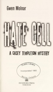 Cover of: Hate cell