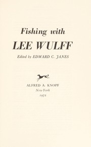 Cover of: Fishing with Lee Wulff