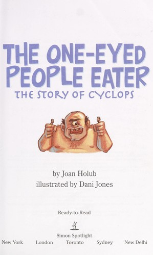 The one-eyed people-eater by Joan Holub