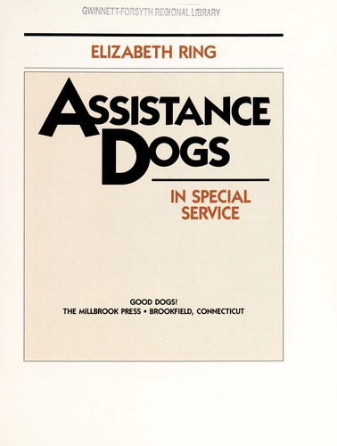 Assistance dogs by Elizabeth Ring