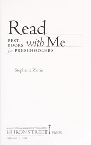 Cover of: Read with me | Stephanie Zvirin