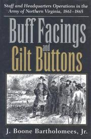 Cover of: Buff facings and gilt buttons