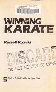 Cover of: Winning karate