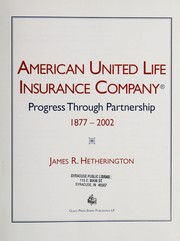 Cover of: American United Life Insurance Company