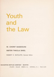 Cover of: Youth and the law