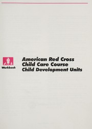 Cover of: American Red Cross child care course