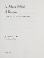 Cover of: Deluxe potful of recipes
