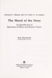 Cover of: The Moral of the Story