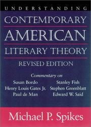 Cover of: Understanding contemporary American literary theory
