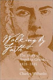 Cover of: Walking by faith