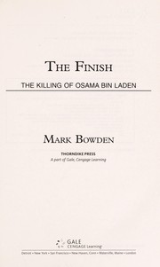 Cover of: The finish