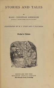 Cover of: Stories and tales | H. C. Andersen