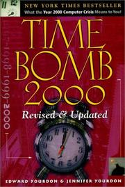 Cover of: Time Bomb 2000 | Edward Yourdon