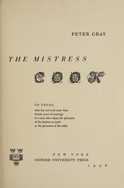Cover of: The mistress cook