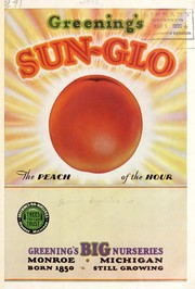 Cover of: Greening's Sun-Glo peach