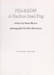 Cover of: Pearson, a harbor seal pup