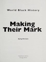 Cover of: Making their mark | Spring Hermann