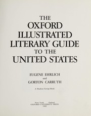 Cover of: The Oxford illustrated literary guide to the United States