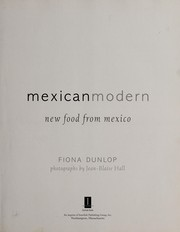 Cover of: Mexican Modern | Dunlop, Fiona/ Hall, Jean-Blaise (PHT)