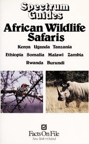 Cover of: African wildlife safaris |