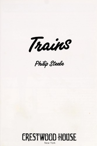 Trains by Steele, Philip