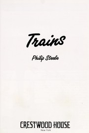 Cover of: Trains | Philip Steele
