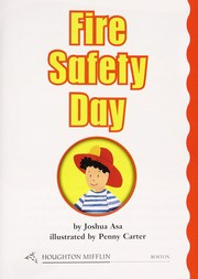 Cover of: Fire Safety Day | Joshua Asa