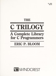 The C trilogy by Eric P. Bloom