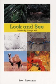Cover of: LOOK AND SEE | SARALYA ASH