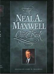 Cover of: Neal A. Maxwell Quote Book | Neal A. Maxwell