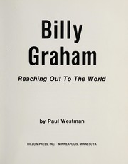Cover of: Billy Graham