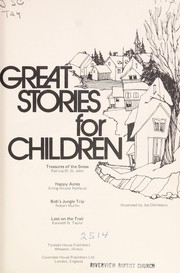 Cover of: Great stories for children