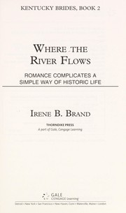 Cover of: Where the river flows