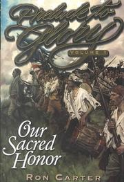 Cover of: Our sacred honor