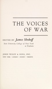 Cover of: The voices of war