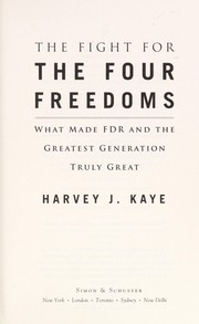 Cover of: The fight for the four freedoms