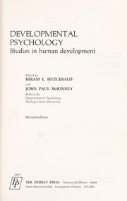 Cover of: Developmental psychology | Hiram E. Fitzgerald